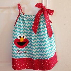 Other - 2 for $15 Elmo Pillowcase Dress